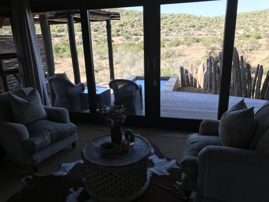 Kwandwe Private Game Reserve, South Africa: view from our room