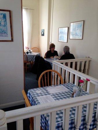 Market Harborough, UK: upstairs