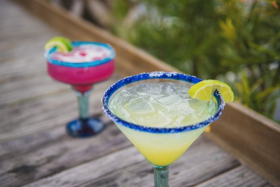 Tower 7 Baja Mexican Grill: House Margaritas and Prickly Pears, we are known for these!