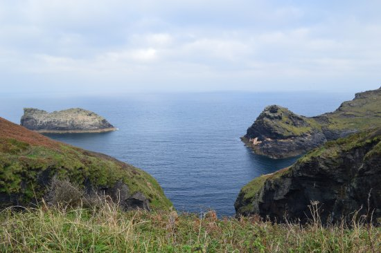 Boscastle, UK: Out to Sea