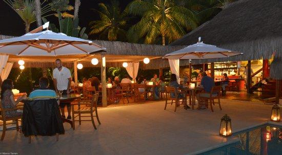 Villas de Trancoso Beach Bar & Restaurant: Restaurante