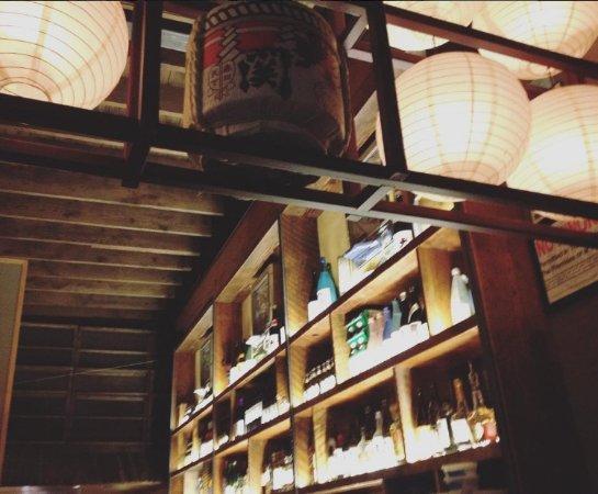 La barra inspirada en la arquitectura japonesa tradicional for Arquitectura japonesa tradicional