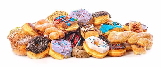West Fargo, ND: The varities are endless. We make 10,000 donuts a day.