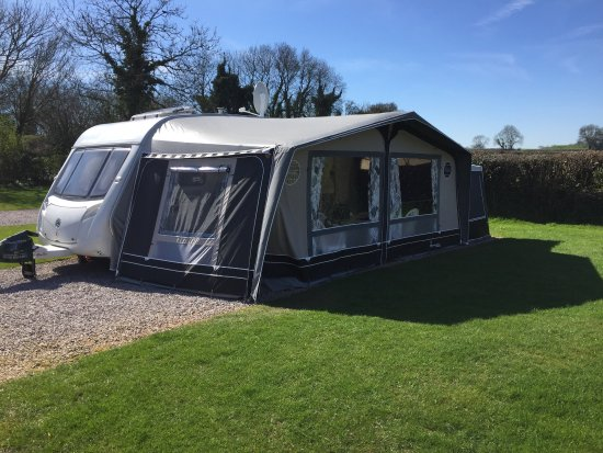 Dornafield Camping Site: Pitch 51, our home from home last week