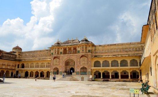 Amber Fort inside near Hotel Rajputana Haveli