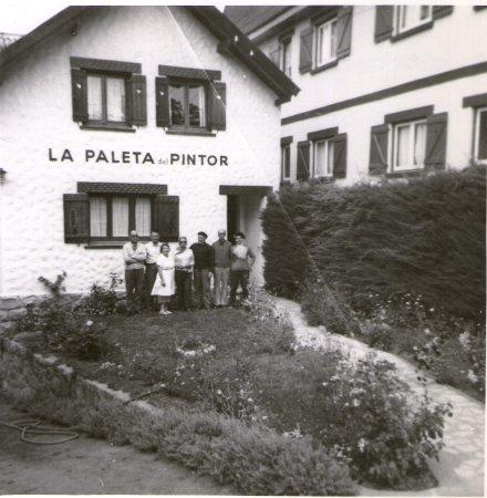 Hosteria La Paleta Del Pintor: año 1962 con mi familia, papá era el de la izq. y yo saqué la foto
