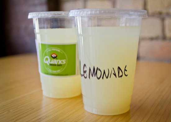 Saint Cloud, MN: All natural, in-house made lemonade.