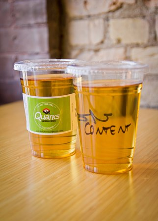 Saint Cloud, MN: In-house cold-brewed teas are also available!