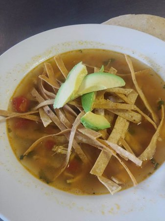 Shamrock, TX: Our Chicken Tortilla Soup!
