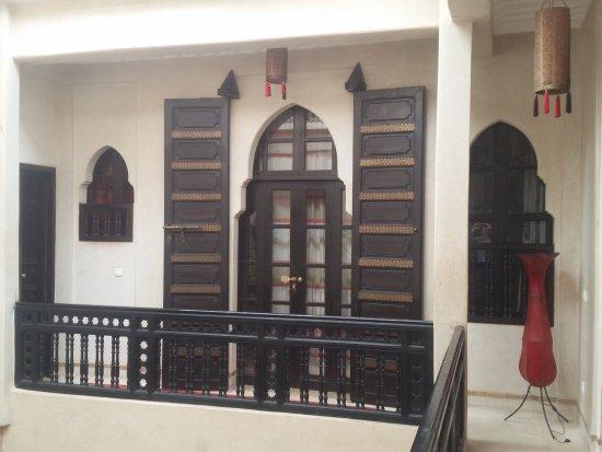Porte de notre suite bild von riad diana marrakesch for Porte 12 tripadvisor