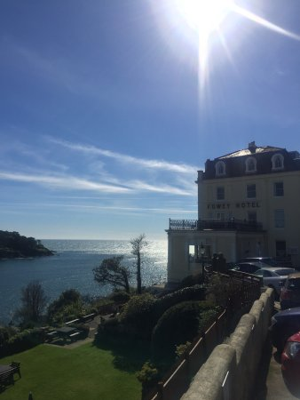 Our lovely stay at the Fowey.