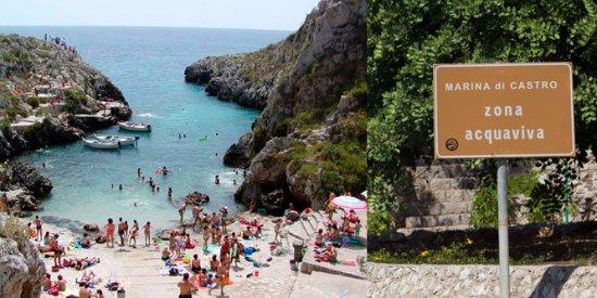 Marittima, Italia: Insenatura acquaviva castro