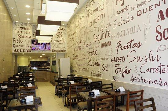 Restaurante Tradição Mineira: Mesas Térreo