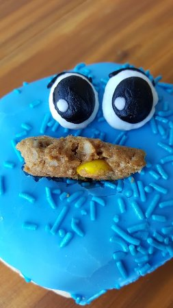 West Fargo, ND: We all have a little cookie monster inside of us!