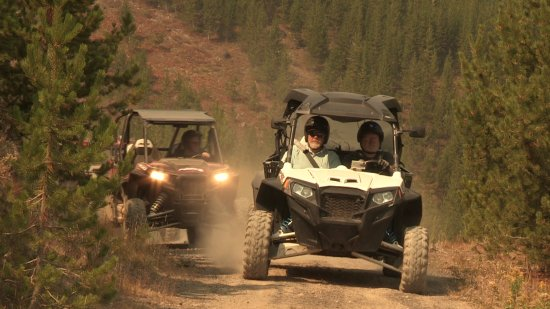 ATVs - West Yellowstone Montana. Photo by Dobson Entertainment