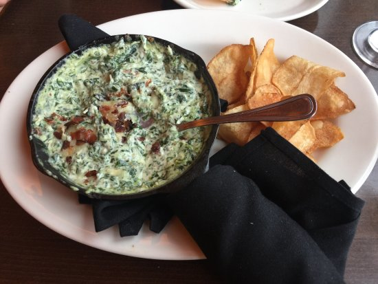 Taprock Northwest Grill : Spinach and bacon dip , delicious ...
