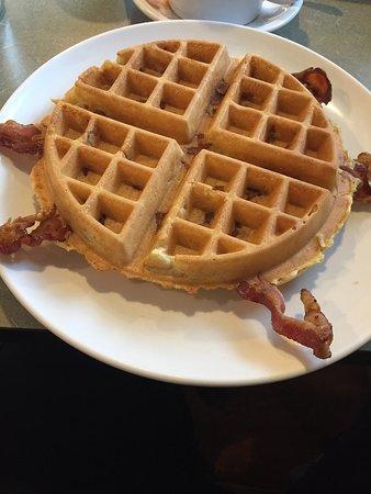 Haverhill, MA: Bacon Waffle