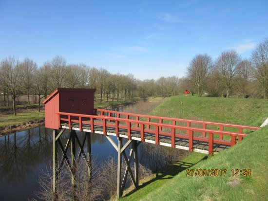 Bourtange, The Netherlands: het secreet