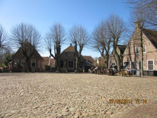 Bourtange, The Netherlands: het binnenplein