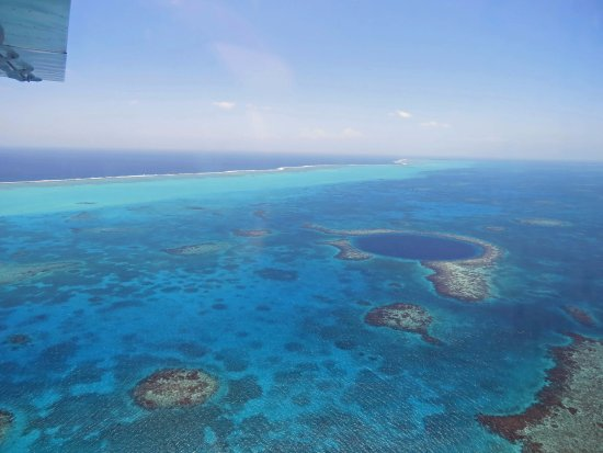 Ambergris Caye, Belize: The Great Blue Hole