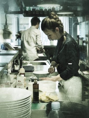 Loches, France: Marie, chef de cuisine