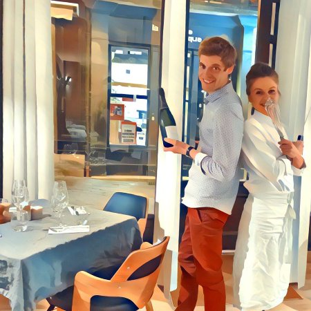 Loches, France: Marie et Matthieu