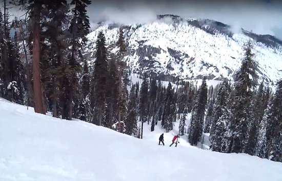 Pinecrest, Californie : Black trail @ Dodge Ridge Ski Resort
