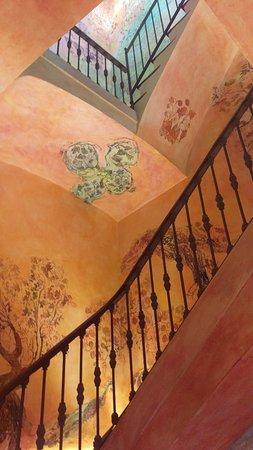 Sant Pau d'Ordal, Spanien: Escalera