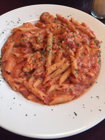 Haverhill, MA: Penne A La Vodka with chicken