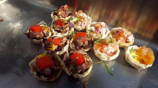 The Townhouse Restaurant: Homemade Canapes