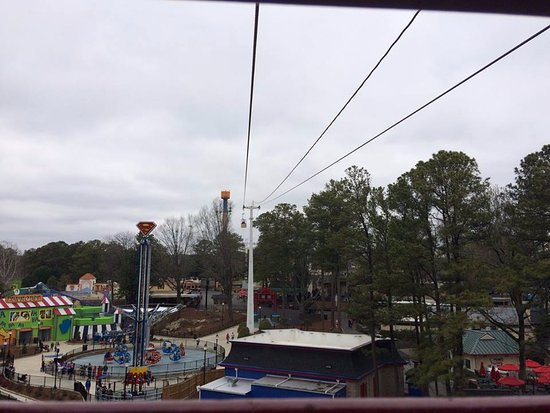 Austell, GA: Ariel view from the Sky Bucket