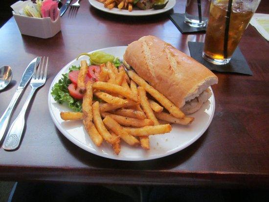 Manzo burger $12