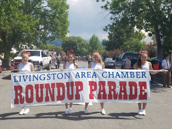 Livingston, MT: July 2nd Roundup Parade