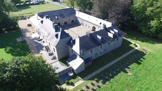 Château de Grandvoir : Photo aérienne