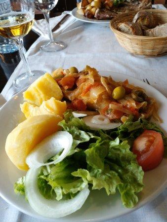Herosa, Spanyol: Bacallau á portuguesa