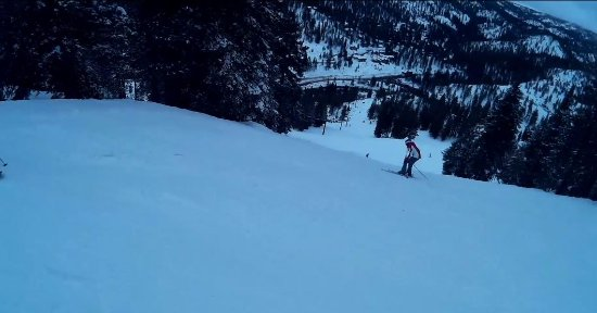 First Black Diamond Trail Off LakeView Lift