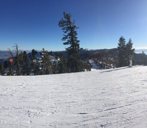Diamond Peak Ski Resort Black From Crystal Lift