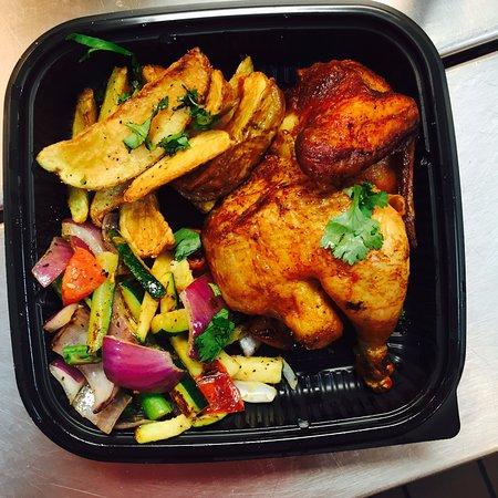 Rockwall, TX: #1 Half Roasted Chicken