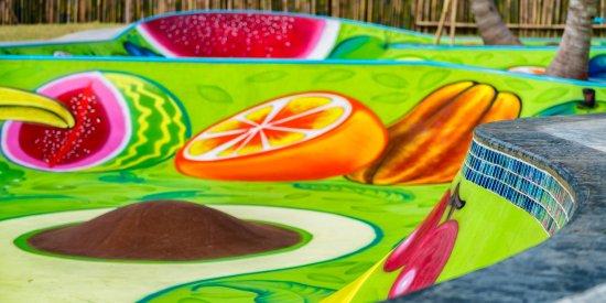 Керамас, Индонезия: Kids Skate park - the Fruit Bowl