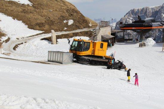 Dantercepies Mountain Lounge 2300mt: gatto delle nevi