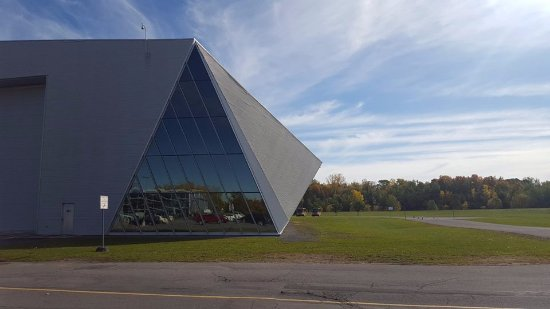 Ottawa, Kanada: The outside of the museum