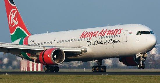 Kenya Airways - 世界、ケニア航...