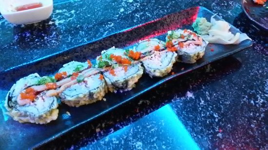 Oconomowoc, WI: My husband invited me to lunch at VIP Sushi today for a first visit and we had a wonderful time.