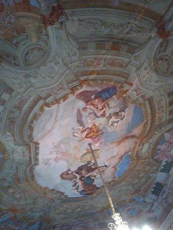 Cerea, Italy: soffitto affrescato del salone nobile