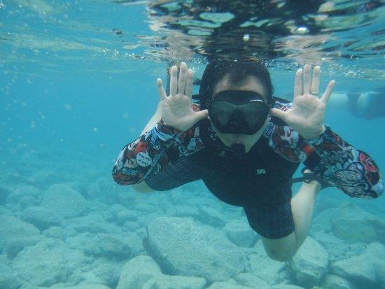Oyster Pond, St. Maarten-St. Martin : Snorkeling fun!