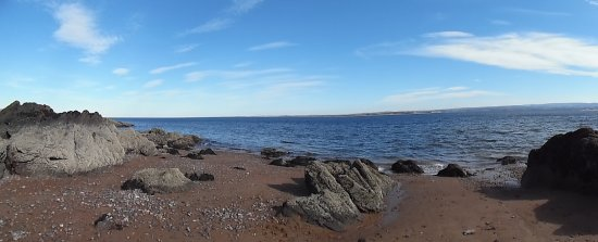 Rosemarkie, UK: Rocky Area