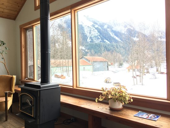 Stewart, Kanada: Public Livingroom with View