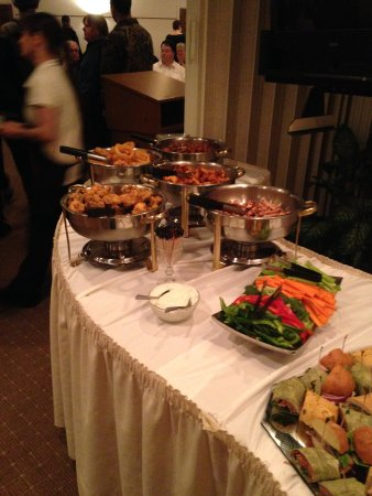 Cheboygan, MI: Great food catered in our banquet room or off premise at any location.