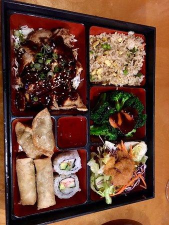 Naked Tchopstix Chicken Teriyaki Bento Box