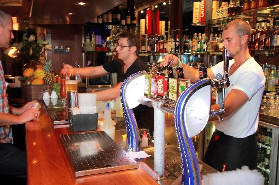 The Lounge: Our bartenders hard at work